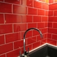 Metro Red Wall Tile
