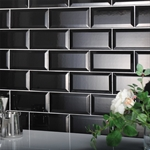 Metro Black Wall Tile