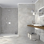 Aberdeen Snow 60x60 Grey Porcelain Floor Tile