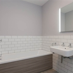 pacific flat matt white wall tile