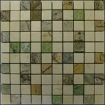 Earth Marble Mosaic Sheet