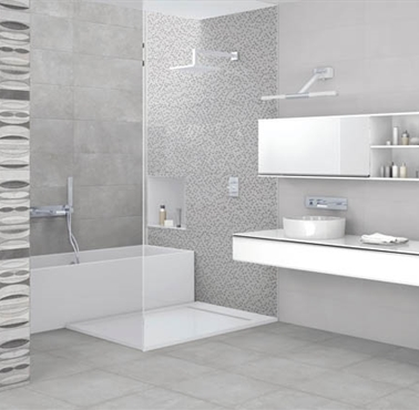 suite temple grey bathroom wall tile